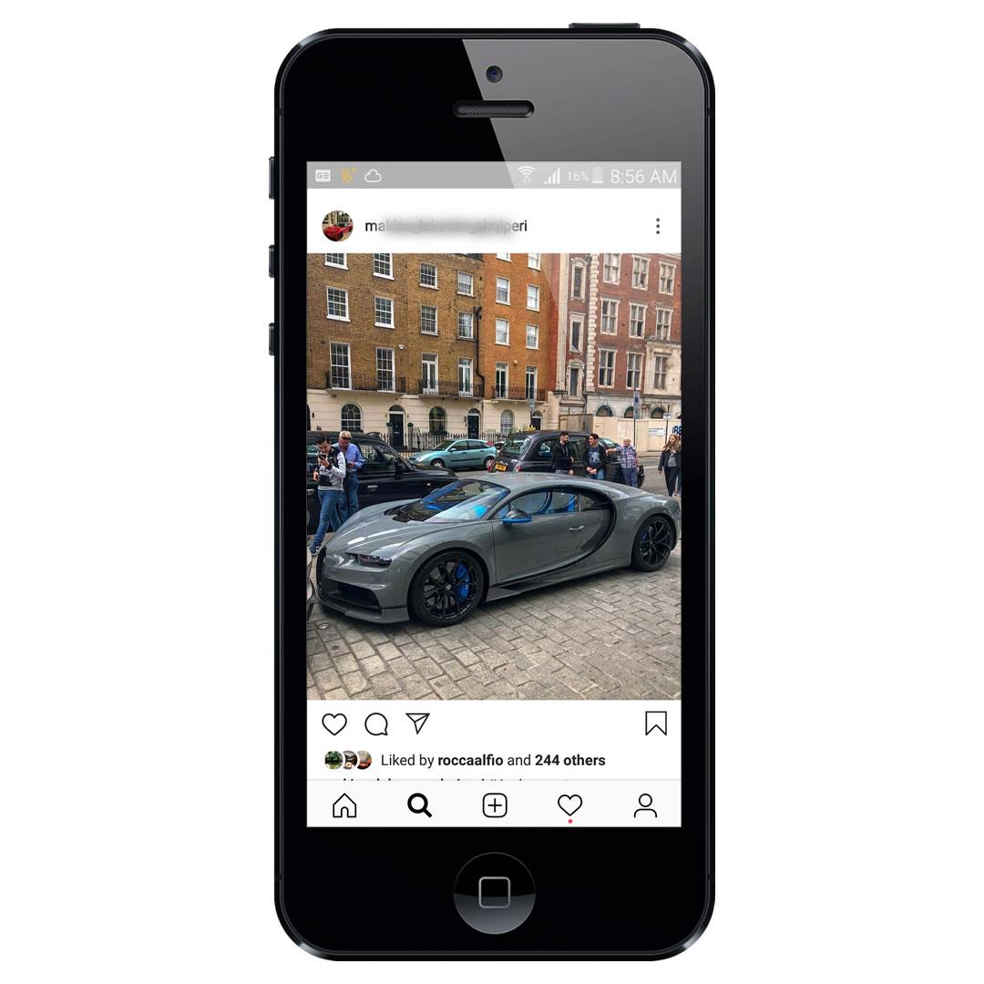 Profil instagrami ne shitje